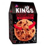 Soft Cookies con Gocce di Cioccolato Kings e con note di arancia verso il finale, in confezione da 4 biscotti singolarmente imbustati da 45 gr. l'una.