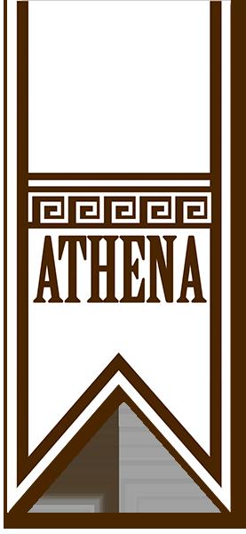 Sweet Athena logo - La nostra gamma di prodotti Athena comprende le Cialde Golose al Cacao e Nocciola e alla Vaniglia.